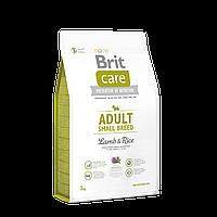 Brit Care DOG Adult Small Breed Lamb & Rice 3 kg (для собак весом до 10 кг) Корм Брит супер-премиум класса