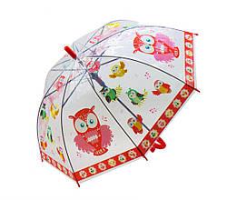 Зонтик Совята (красный)