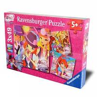 Пазл-3х49 Ravensburger Winx-Магия дружбы Ravensburger (09324R)