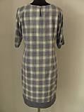 Платье полуприталенного кроя больших размеров на каждый день или праздник р.54 код 2259М, фото 3