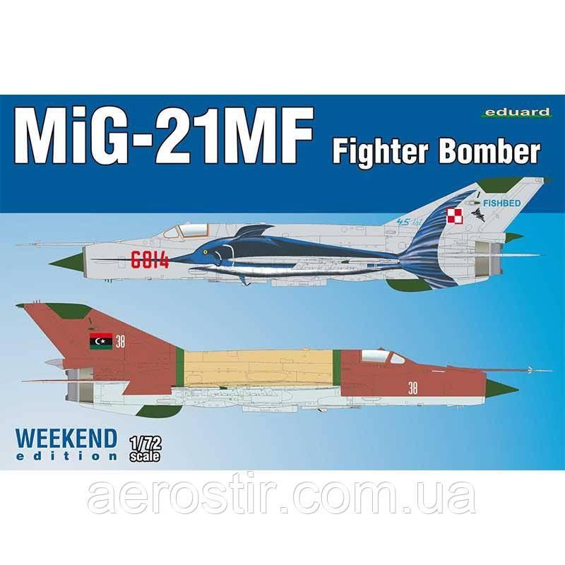 МиГ-21МФ 1/72 Eduard 7451