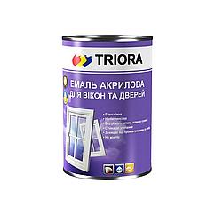 Акриловая эмаль для окон и дверей Triora 0.4л