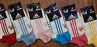 """Жіночі короткі шкарпетки в стилі""""Adidas"""",Туреччина 36-41, фото 1"""