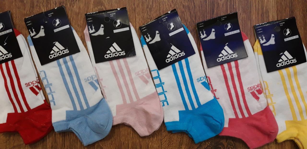 """Жіночі короткі шкарпетки в стилі""""Adidas"""",Туреччина 36-41"""