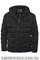 Куртка зимняя мужская HDGF 19-9983B темно-синяя, фото 1