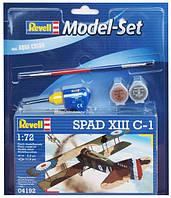 Model Set Самолет (1917г., Франция) Spad VIII C-1, 1:72 Revell (64192)