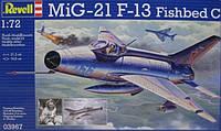 Многоцелевой истребитель MiG-21 F.13 1:72 Revell. Revell (3967)