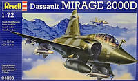 Многоцелевой истребитель Mirage 2000D 1:72 Revell. Revell (4893)