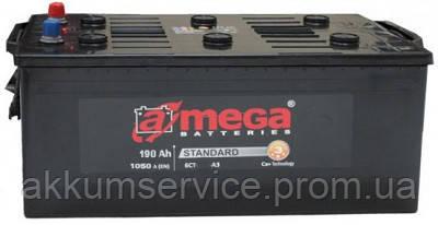 Аккумулятор грузовой A-Mega Standart 190AH 4+ 1050A (M3) Truck