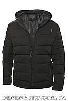 Куртка зимняя мужская HANDIGEFENG 19-9983B черная, фото 1