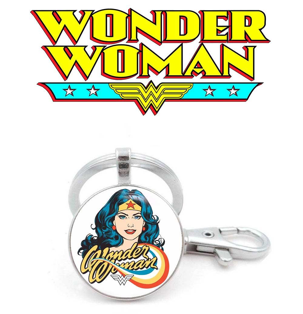 Брелок Лого Чудо-женщина / Wonder Woman