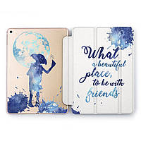 Чехол книжка, обложка для Apple iPad (Добби, Гарри Поттер) модели Pro Air 9.7 10.5 11 12.9 mini 1 2 3 4 5 айпад про эйр 2017 2018 2019 case smart