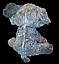 Серый сидящий плюшевый Слон 90 cм детская мягкая музыкальная игрушка, фото 2