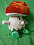 Плюшевый Грибочек 25 см музыкальная мягкая игрушка для детей на подарок, фото 2