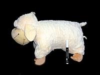Детская подушка овечка 52*43 см мягкая плюшевая игрушка для детей