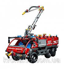 """Конструктор Decool 3371 """"Спасательный транспорт для аэропорта"""" (аналог Lego Technic 42068), 1110 дет, фото 2"""