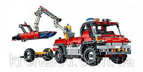 """Конструктор Decool 3371 """"Спасательный транспорт для аэропорта"""" (аналог Lego Technic 42068), 1110 дет, фото 3"""