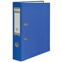 Папка регистратор LUX односторонний JOBMAX А4, 70мм PP, синій