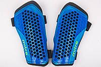 Щитки футбольные Mitre на резинках (Синие), фото 1