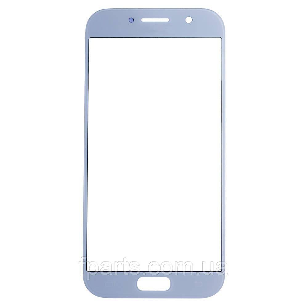 Стекло дисплея Samsung A520 Galaxy A5 (2017) Silver