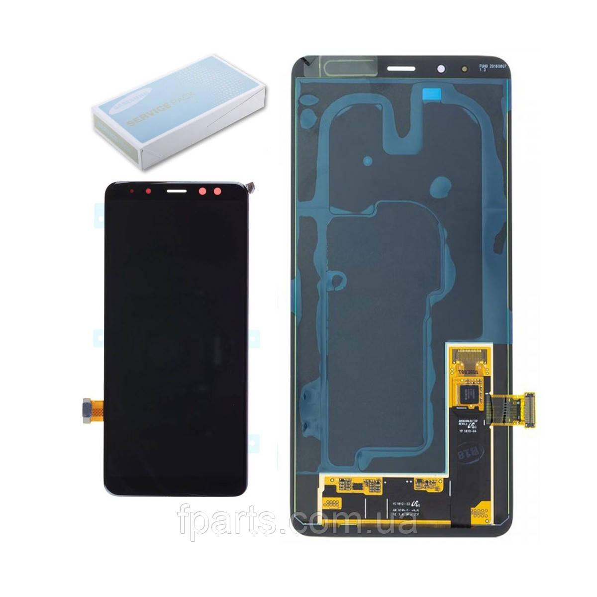 Дисплей Samsung A730F Galaxy A8 Plus (2018) с тачскрином (Black) GH97-21534A Original