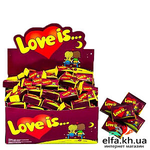 Жвачка Love is Вишня-Лимон 50 шт