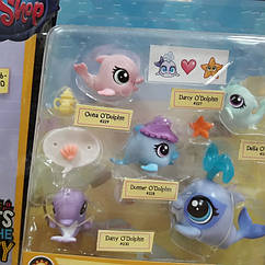 Littlest pet shop lps игровой набор Hasbro лпс пет шоп mommy-babies