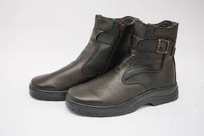 Мужские ботинки (Код: К-7 черный )