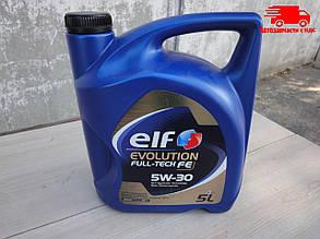 Масло моторное Elf Evolution FullTech  FE 5W30 / 5л. / (ACEA C4,  RENAULT RN 0720)