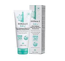 Натуральное минеральное солнцезащитное средство для малышей SPF 30 Derma E