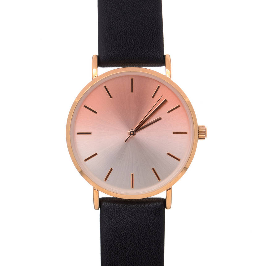 Жіночий годинник Even&Odd eww-rf17-0277 Gold Black, фото 2