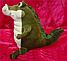 Мягкая игрушка Крокодил 35 см детская плюшевая игрушка сидячий крокодил, фото 2