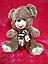 Коричневый плюшевый Мишка 48 см мягкая игрушка подарок на 8 марта день рождения, фото 2