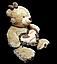Плюшевый Медведь 55 см с сердцем прекрасный подарок любимой девушке игрушка мягкая, фото 2