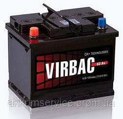 Акумулятор автомобільний Virbac Classic 60AH R+ 480A (M2)
