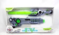 Набор-космический меч 53 см и бластер 29 см, со светом, звуком и музыкой TopSky (145482)