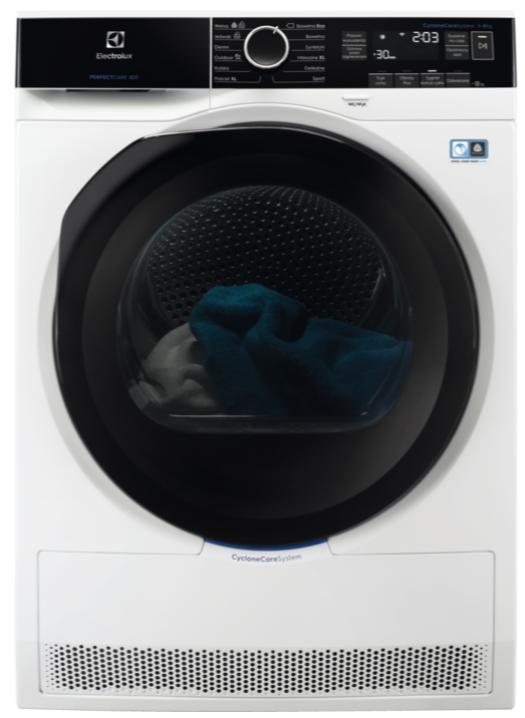 Сушильный автомат с тепловым насосом Electrolux EW8H258BP