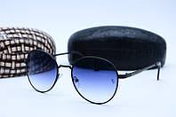 Солнцезащитные очки в стиле Ретро 6633 черные, фото 1