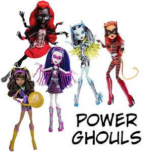 Супергерої - Power Ghouls