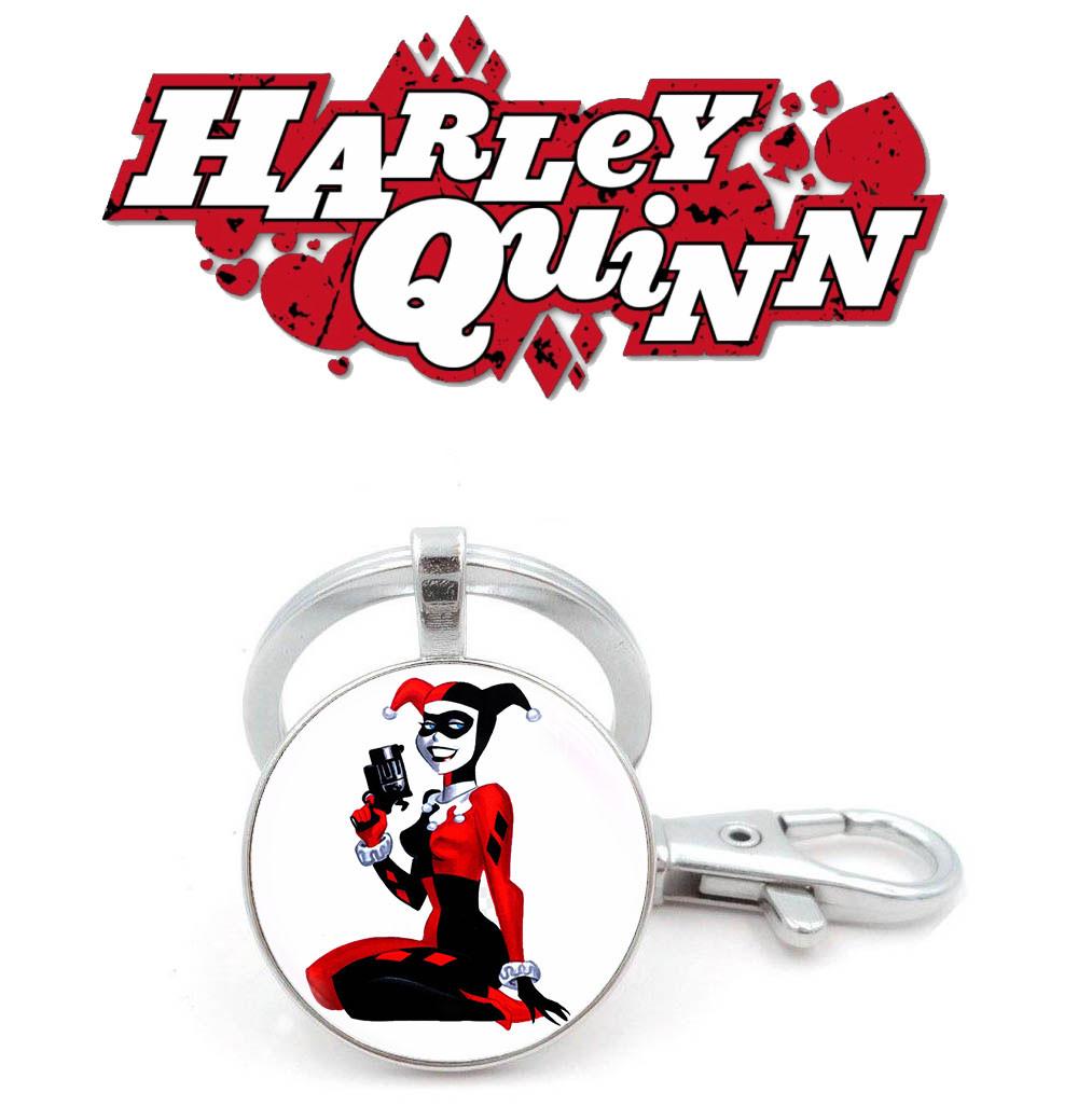 Брелок с комикса Харли Квинн / Harley Quinn