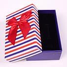 """Коробочка под набор """"Полоска NEW красно-синяя 9.5х 7х 2,5 см"""", фото 3"""