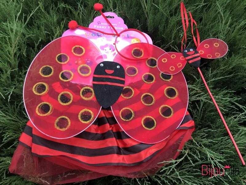 """Карнавальный детский костюм для девочки """"Божья коровка"""" на утренник, на хэллоуин"""