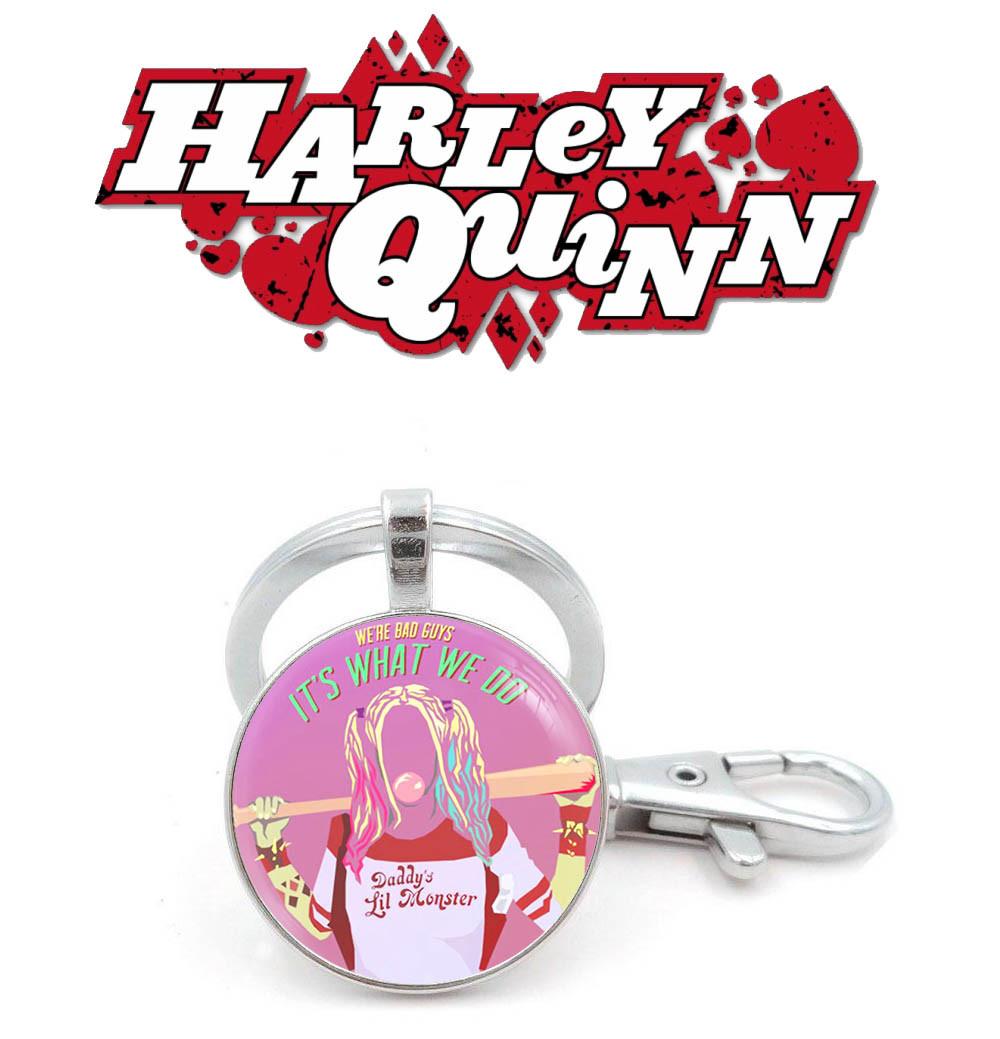 Брелок It's what we do  Харли Квинн / Harley Quinn