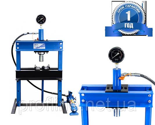 Пресс гидравлический настольный 12 тонн Profline 97352, фото 2
