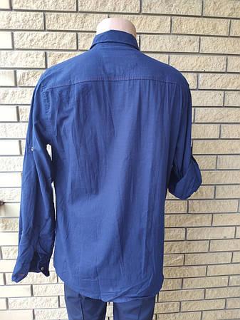 Рубашка мужская коттоновая  брендовая высокого качества ELZARA, Турция, фото 2