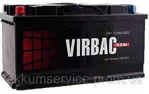 Аккумулятор автомобильный Virbac Classic 95AH R+ 680A (M2)