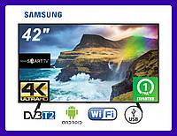 "Телевизор Samsung 42""+ Smart TV, Wi-FiUltra HD"