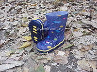 Детские резиновые сапоги Галактика