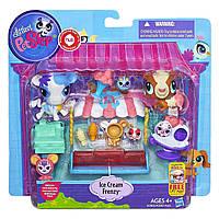 Littlest pet shop lps игровой набор Hasbro лпс Пет Шоп ice cream frenzy