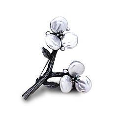Вінтажна брошка - Декоративні квіти